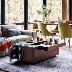 Hyde Storage Coffee Table #westelm