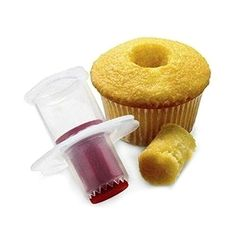Buy Hot Sale Fashion Kitchen Creative Cupcake Muffin Cake Corer Plunger Cutter Pastry Decorating Divider Model at Wish - Shopping Made Fun Cupcake Muffin, Cupcake Cakes, Cup Cakes, Bolo Diy, Mini Diy, Cream Filled Cupcakes, Bag Cake, Salty Cake, Cake Decorating Tools