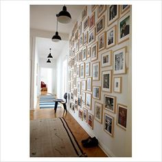 Modern hallway - Image No: 0072346 - GAP Interiors - Picture library specialising in Interiors, Lifestyle Rooms & Homes Modern Hallway, House Styles, Wall Painting Living Room, Interior, Photo Wall, Berlin Apartment, Frames On Wall, Cool Walls, Rustic Home Interiors