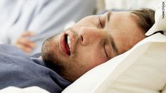Sleep apnea Snoring is often joked about, but it can actually be a symptom of a serious condition called sleep apnea. People with sleep apnea stop breathing while they're sleeping because their airway collapses. Learn more about this condition. http://learni.st/users/amanda.delgado.5661/boards/71905-sleep-apnea