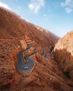 Visit Morocco, Morocco Travel, Dangerous Roads, Winding Road, Ancient Ruins, Beautiful Landscapes, Paths, Travel Photography, Scenery