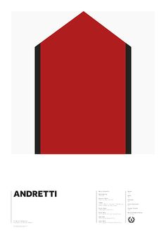 World Champions series - Andretti by Adrian Newell