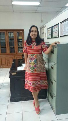 Dress tenun timor