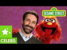 Emotion regulation for younger kids good video clip - Sesame Street: Jon Hamm and Murray Get Emotional