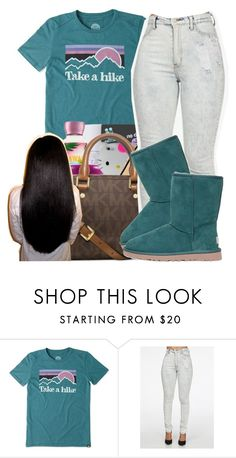"""""""Take a hike"""" by maiyaxbabyyy ❤ liked on Polyvore featuring Life is good and UGG Australia"""