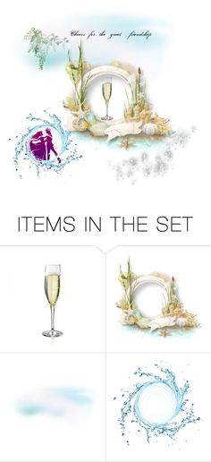 """""""Let's have a drink in May"""" by viyoli ❤ liked on Polyvore featuring art, FRU and freindsrus"""