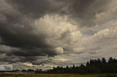 Storms Approach by gregandrascik  clouds field landscape storm trees Storms Approach gregandrascik