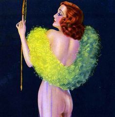 "Hoodoo That Voodoo, vintagegal: ""Reflections"" by Billy DeVorss c. Vintage Images, Retro Vintage, Stunning Women, Beautiful, Calendar Girls, Pin Up Girls, Fashion Art, Flappers, Model"