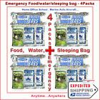 Survival Aid - Emergency Pack for 4 People 3 in 1 Food-Water-Sleeping Bag *Offers Protection From Being Hungry Thirsty And Cold. http://stores.ebay.com/survivalaidinc/Survival-Aid-/_i.html?_fsub=10801568017
