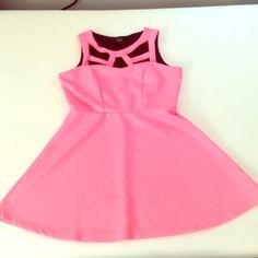 Rue 21 Flared dress Pink Rie 21 Flared dress, worn once  Rue 21 Dresses Mini