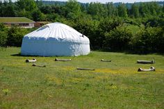 Sadly we lost our Yurt, but it was a classroom space with a difference!