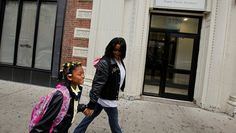 For a Homeless Child, a Long Ride to 4th Grade