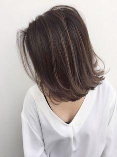 【HAIR】高沼 達也 / byトルネードさんのヘアスタイルスナップ(ID:353495) Medium Hair Styles, Curly Hair Styles, Coloured Hair, Asian Hair, Hair Highlights, Balayage Hair, Hair Goals, Hairdresser, Hair Makeup