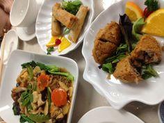 Vegetarian Temple Food