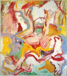 """Willem de Kooning, Amityville, 1971, oil on canvas, 80-1/3"""" x 69-1/2"""""""