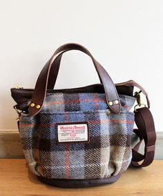 Beauty&youth United Arrows ユナイテッドアローズ  ハリスツイード2ウェイトートバッグ/ Harris tweed shoulder tote on ShopStyle