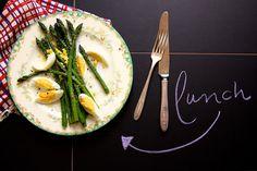 Simple Asparagus Lunch