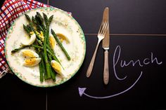 Simple Asparagus Lunch from Joy the Baker.  Love this.
