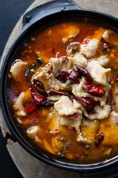 SHUI ZHU PORK (pork in spicy broth) [China, Sichuan Province] [chinasichuanfood] [sichuan, szechwan, szechuan]