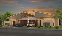 home design, interior home design, home gardens design, home plans . Villa Design, Duplex House Design, Townhouse Designs, Apartment Design, Modern House Design, House Staircase, Facade House, House Facades, Duplex House Plans