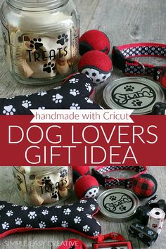 Welcome to Day 88 of the 100 Days of Homemade Holiday Inspiration Each day we will be inspiring you with recipes, decorating ideas, crafts, homemade gift ideas and much more! Treat the pet lovers in your life to this fun and easy to make gift idea! Gifts For Pet Lovers, Gifts For Boys, Dog Gifts, Gift For Lover, Cat Lovers, Unique Gifts, Best Gifts, Animal Projects, White Elephant Gifts