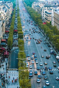 What a beautiful city Paris is. Took this shot from the top of the Arc De Triomphe facing towards the beautiful Champs Elysees. It was appro...