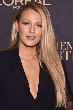 Blake Lively mit Sleek-Look