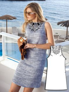 Love this new pattern from Burda-Yacht Style: 12 New Sewing Patterns – Sewing Blog | BurdaStyle.com