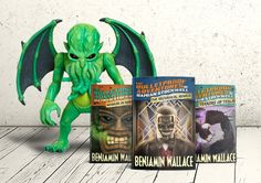 Win Cthulhu Action Figure & The Bulletproof Adventures of Damian Stockwell Series Creepy Comics, Adventure Books, Prize Giveaway, Cthulhu, Pulp Fiction, Giveaways, Scary, Action Figures, Places To Visit