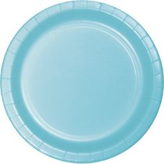 Hugh selection of pastel blue paper and plastic dinnerware. Red plastic plates, paper plates and napkins at great wholesale prices. Blue Dinner Plates, Blue Plates, Party Plates, Party Tableware, Dessert Plates, Pastel Blue Color, Soft Colors, Blue Placemats, Plastic Dinnerware