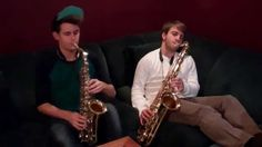 Anthony Kase = Alto Saxophone Andrew Acciaioli = Tenor Saxophone Both of us = AWESOME ;D Original song by Adele, Arranged by Anthony Kase and Andrew Acciaiol. Adele Songs, Baritone Sax, Rain, Fire, Cover, Rain Fall, Waterfall
