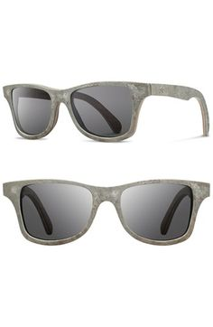 Shwood 'Canby' 54mm Polarized Stone Sunglasses | Nordstrom