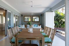 If you like a little style mixed in with your sea and sand on a beach holiday, Zinkwazi Laguna is for you. Outdoor Tables, Outdoor Decor, Kwazulu Natal, Beach Holiday, Rental Property, Pools, South Africa, Patio, Outdoor Furniture