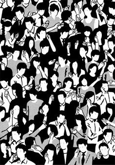 Creative Design, Life, Hisashi, Okawa, and Illustration image ideas & inspiration on Designspiration Art And Illustration, Black And White Illustration, Creative Illustration, Illustrations, Art Pop, Arte Sketchbook, Black And White Drawing, Photomontage, Sketches