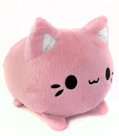 Kawaii Pink Kitten Plush