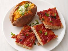 Turkey Meatloaf Squares with Sweet Potatoes Recipe : Food Network Kitchen : Food Network - FoodNetwork.com