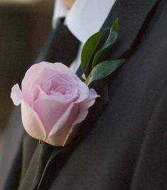 White Garden Rose Boutonniere white rose boutonniere | corsages | pinterest | white roses, white