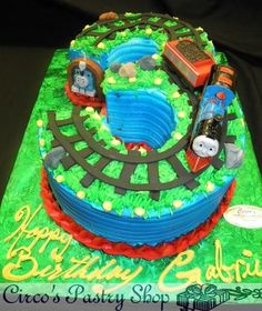 Image result for thomas the train cake