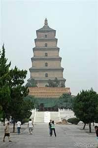 pagoda xian china    It was that amazing