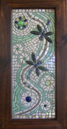Dragonflies   #mosaic #art #design
