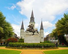 Jackson Square, New Orleans...be there in May to celebrate our 40th annv!