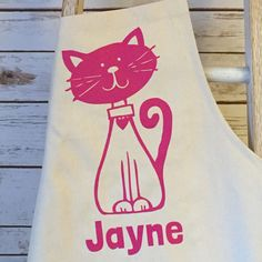 A personal favourite from my Etsy shop https://www.etsy.com/uk/listing/527164957/personalised-cat-apron-cat-lovers-gift