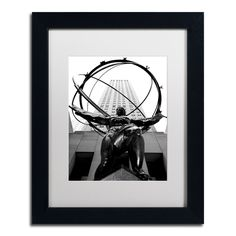 'Atlas' by CATeyes Framed Photographic Print