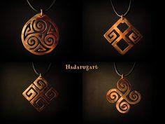 Mandria in arta Copper Artwork, Tattoo Designs, Deviantart, Drop Earrings, Metal, Handmade, Jewelry, Romani, Stone