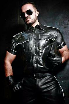 Sexy leather men