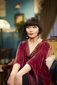Phryne Fisher ~ Miss Fisher's Murder Mysteries Season two out the end of May! #mystery
