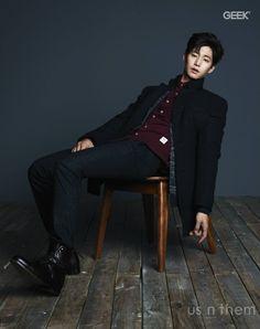 Song Jae Rim - Geek Magazine December Issue '14