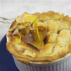 Ham and Cheese Pie Allrecipes.com