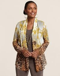 Travelers Collection Stunning Animal Jacket