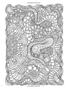 Welcome to Dover Publications Creative Haven Dream Doodles: A Coloring Book with a Hidden Picture Twist *Abstract Doodle Zentangle Paisley Coloring pages colouring adult detailed advanced printable Kleuren voor volwassenen coloriage pour adulte anti-stress kleurplaat voor volwassenen Line Art Black and White